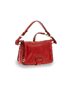 The Bridge - Shoulder Bag -Red Currant/Gold